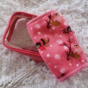 Sloth Print Makeup Eraser Towel with Reusable Bag